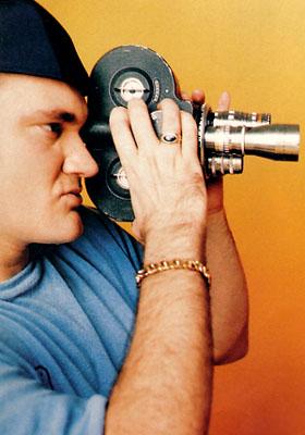 Tarantino filming