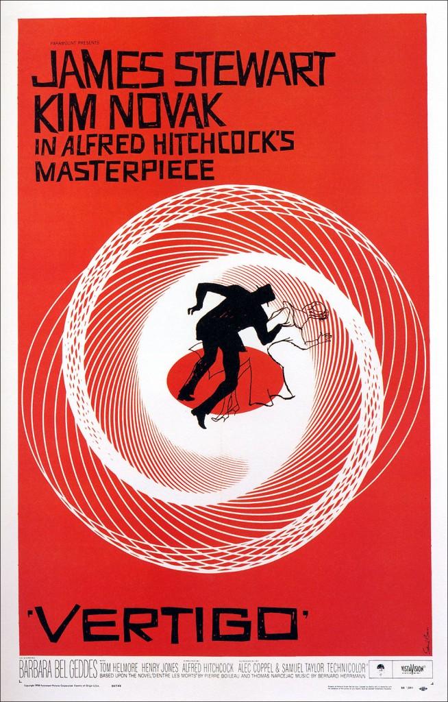 Vértigo (1958) poster