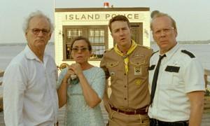 Murray, McDormand, Norton y Willis