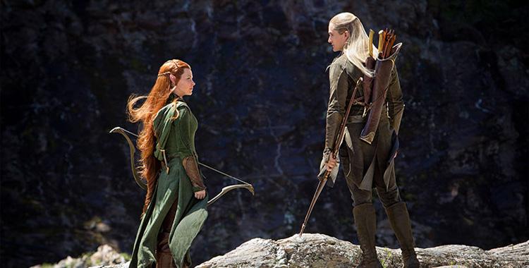 Tauriel y Legolas
