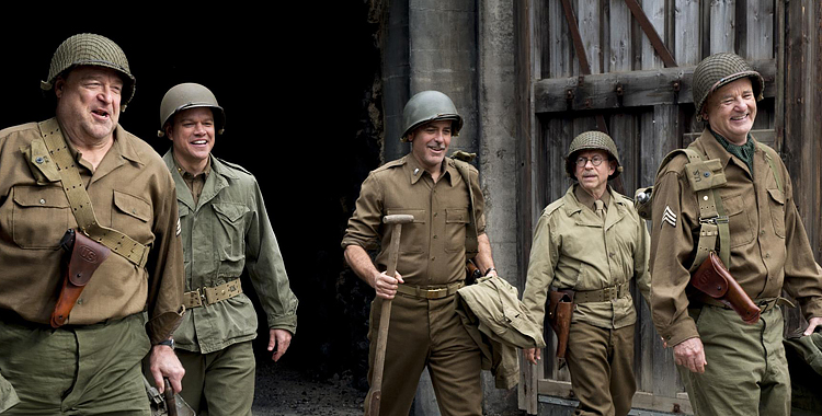 the-monuments-men-george-clooney-bill-murray-john-goodman